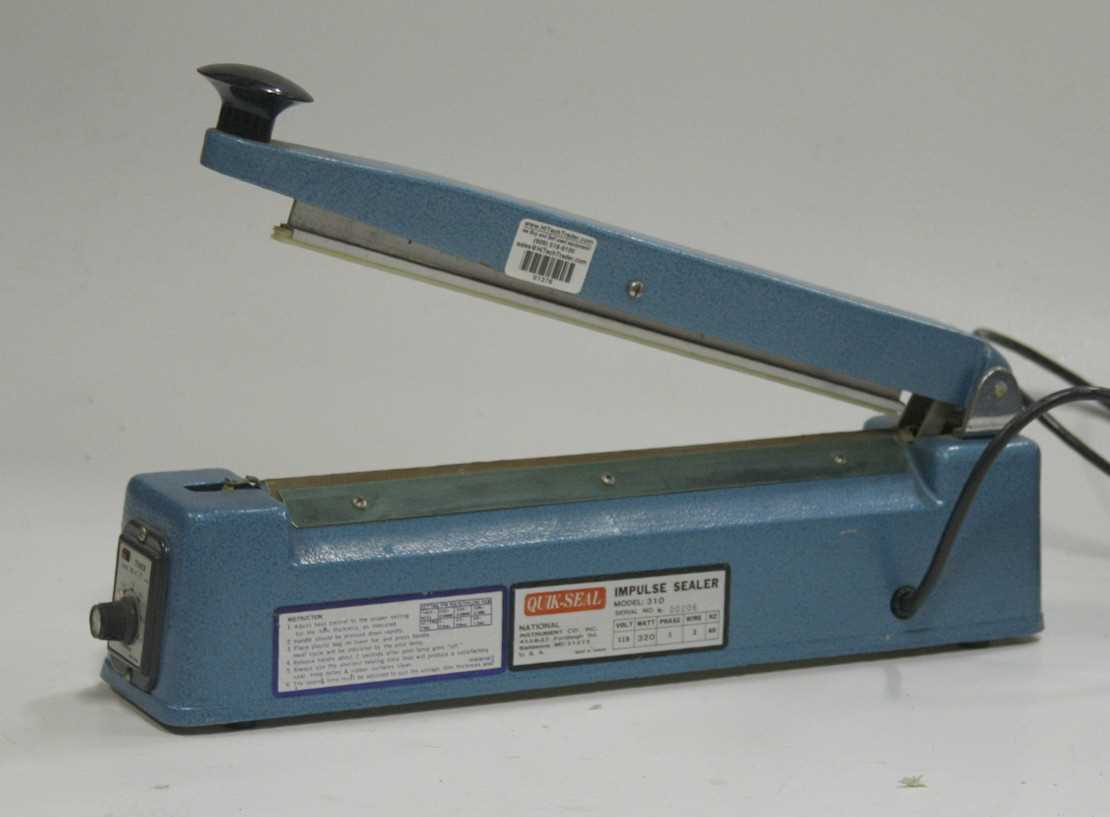 National Instruments Thermal Impulse Sealer 310 - 1
